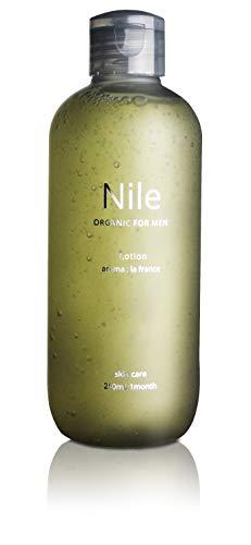 【2021年モデル】Nile 化粧水 メンズ オールインワン アフターシェーブ 【化粧水/美容液/乳液/保湿クリーム/4役】 (250mL)