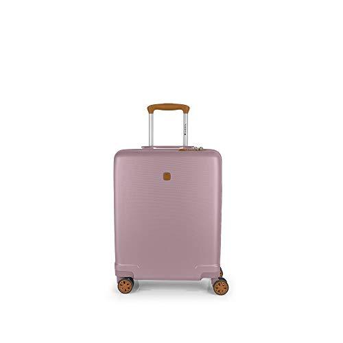 Gabol - Mosaic | Maleta de Cabina Rigida de 39 x 55 x 20 cm con Capacidad para 35 L de Color Rosa