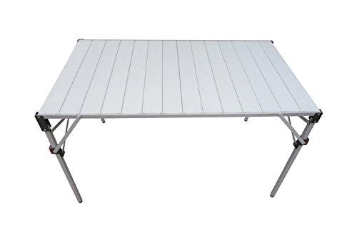 Ferrino 61788 klaptafel camping en tuin, grijs