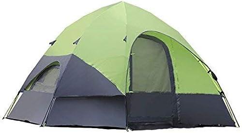 QYYZP Tente, Tente de Famille de Camping en Plein air