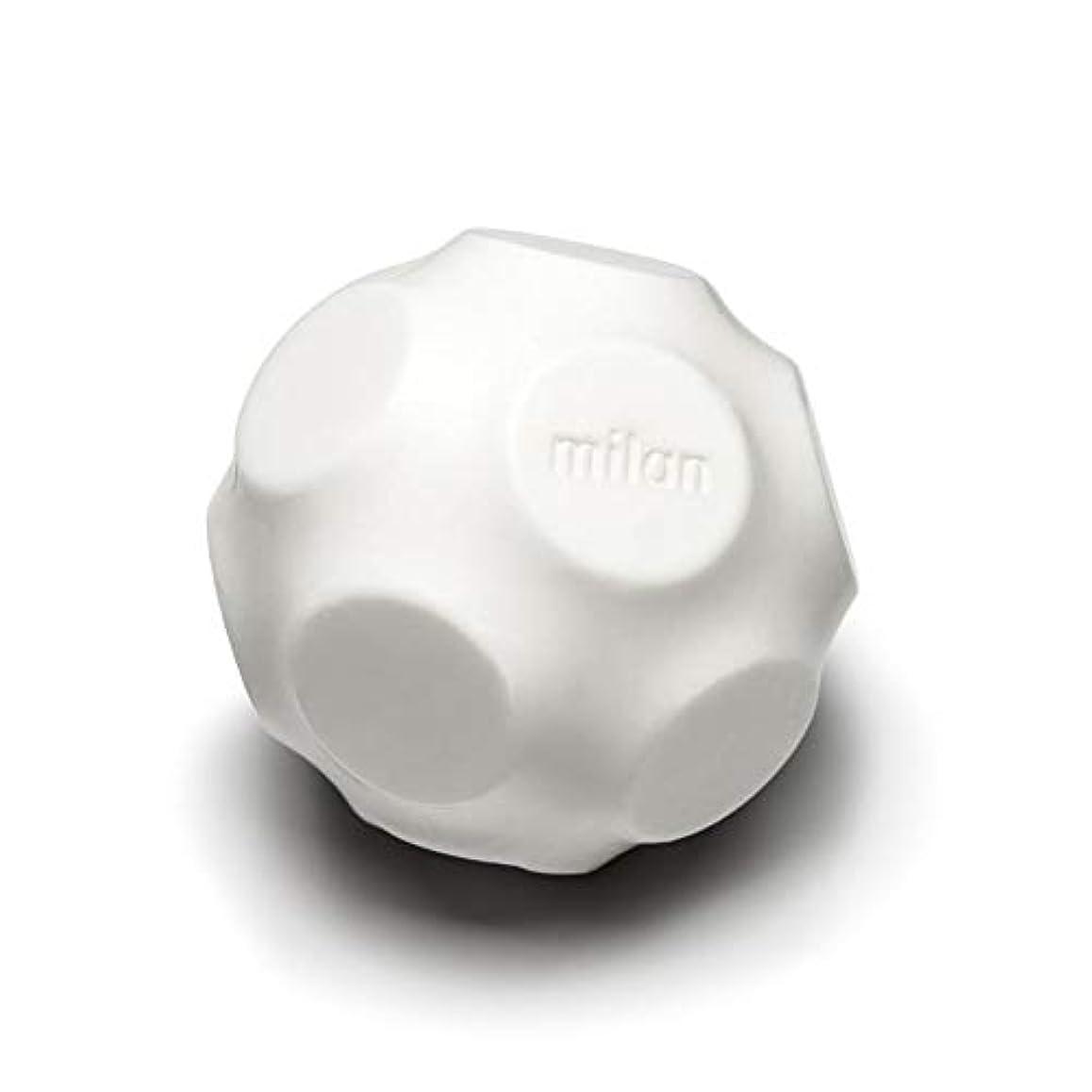 画面評価する作物Maison Milan SIMONA ダイヤモンド粉 ホワイト 石鹸