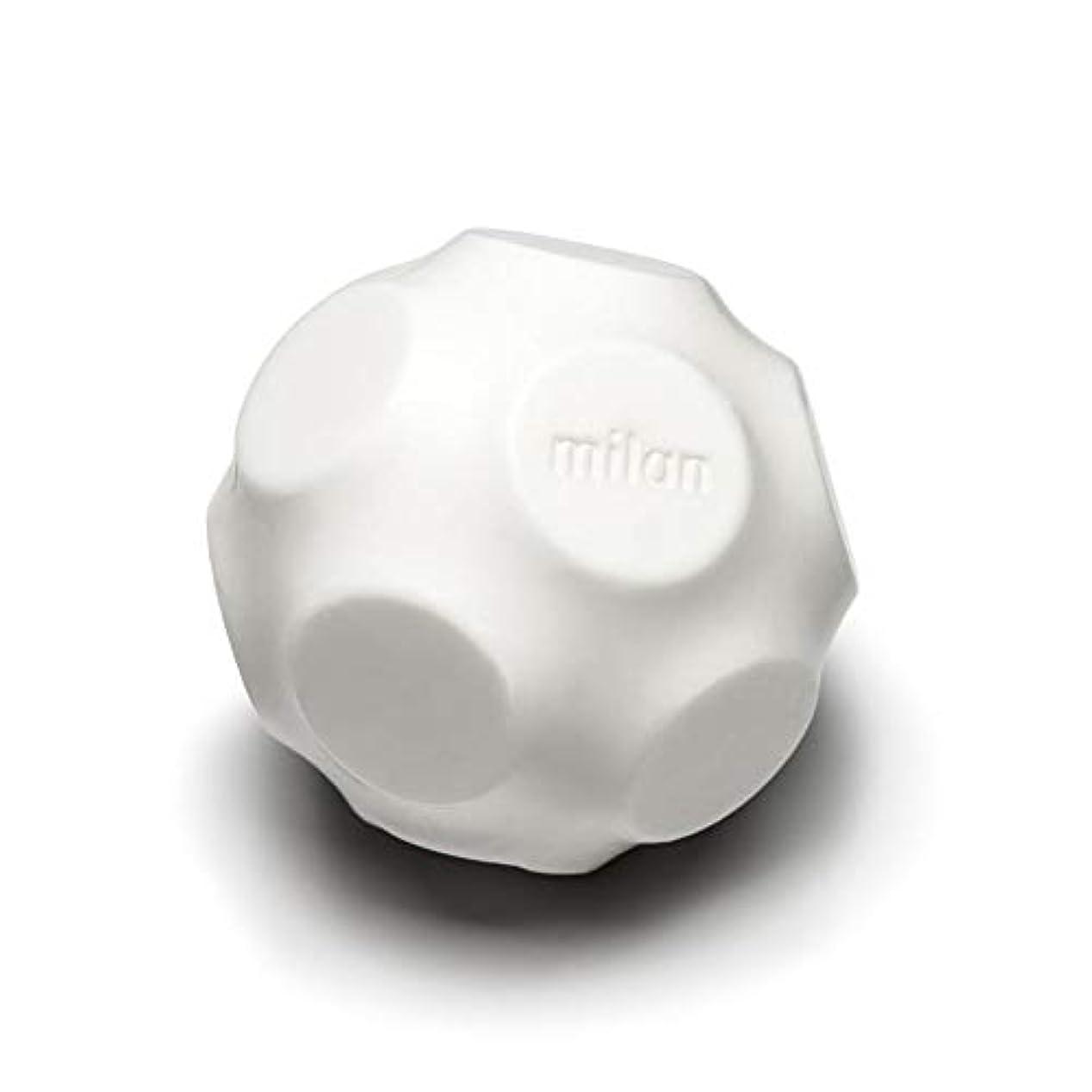 性差別クリップ早熟Maison Milan SIMONA ダイヤモンド粉 ホワイト 石鹸