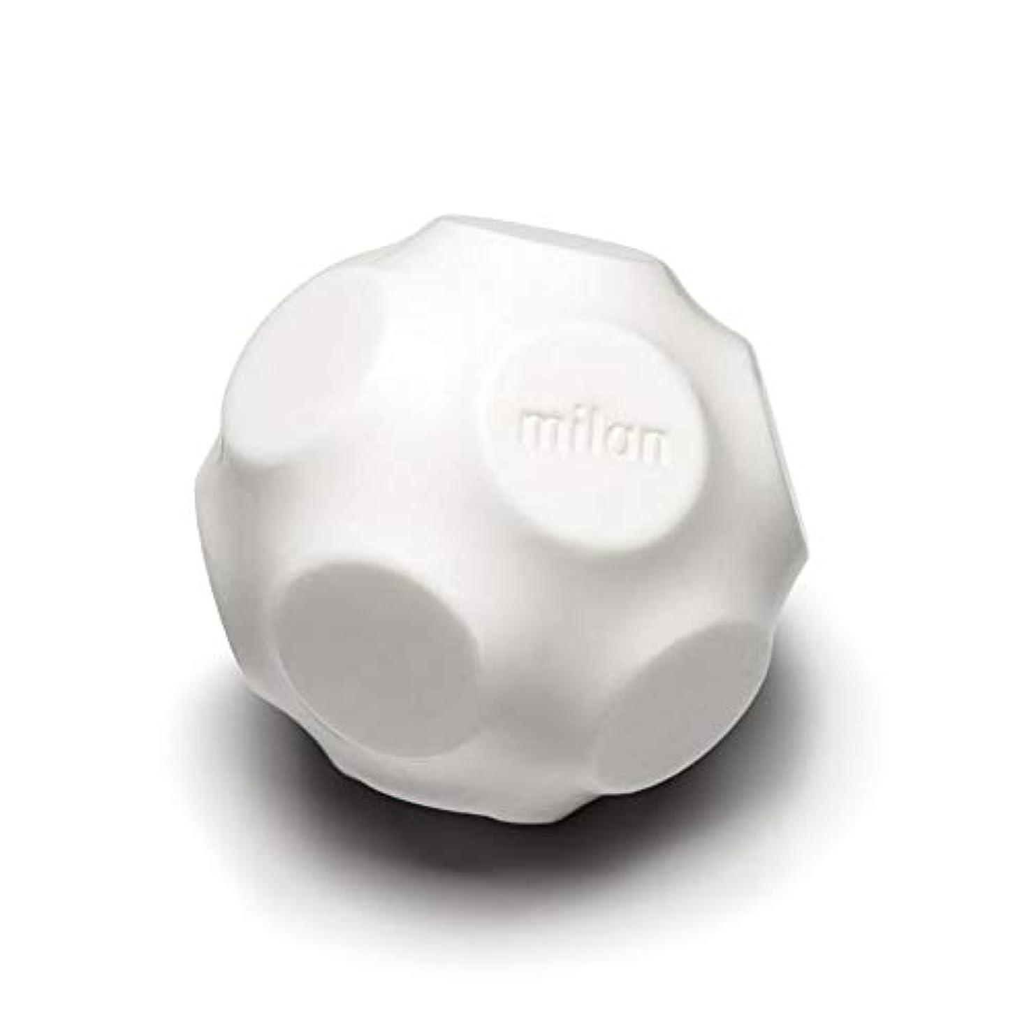アトム橋差別的Maison Milan SIMONA ダイヤモンド粉 ホワイト 石鹸
