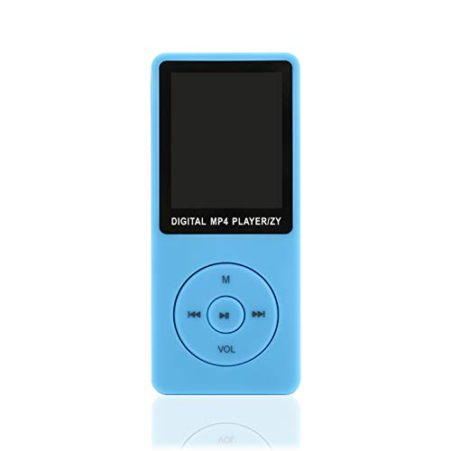 Galapare Reproductor de MP3 Player 64 GB, Music Player 1.8'', Screen Portable MP3 Music Player with FM Radio Voice Recorde for Kids Adult
