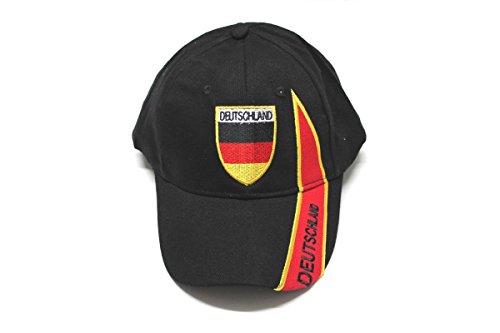 Unbekannt Deutschland Cap/Kappe schwarz