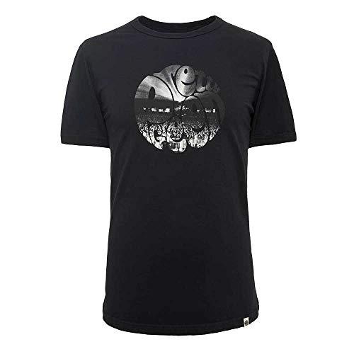 Pretty Green Crowd Printed Logo T-Shirt - Black-S