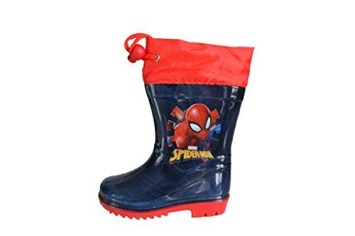 Spiderman Marvel-Bottes de Pluie Bleue et Rouge (22)