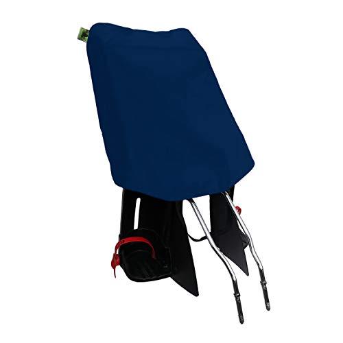 MadeForRain Preiswerter Basis-Regenschutz für Fahrradkindersitz - CityFrog Basic - Neptunblau