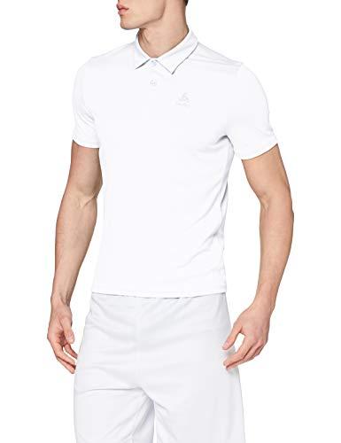 Odlo Herren Poloshirt Polo s/s CARDADA, white, XL, 222202