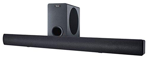 Magnat SB 180 | Vollaktive Heimkino-Soundbar mit Subwoofer und Bluetooth | Optischer Digitaleingang, Analoge Eingänge - schwarz