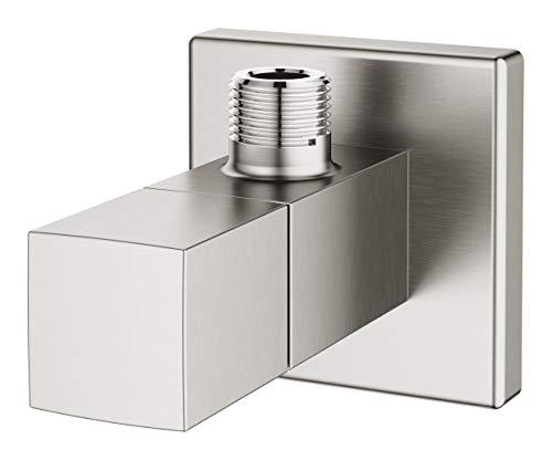 Grohe 22012DC0 - Grifo universal con forma de cubo (1/2', 3/8'), color acero