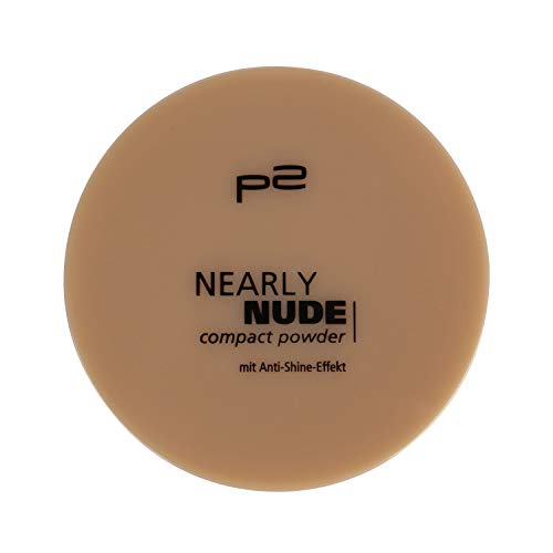 p2 cosmetics Make-up Teint Puder Nearly Nude Compact Powder 015