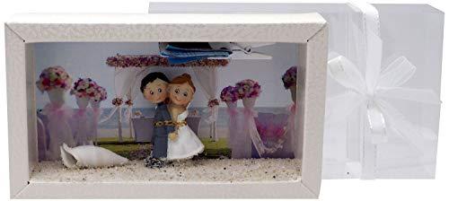 ZauberDeko Geldgeschenk Verpackung Hochzeit Hochzeitsreise Strandhochzeit Gutschein Geschenk Flitterwochen