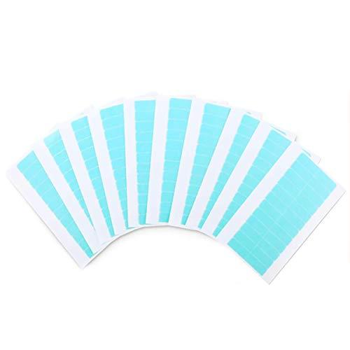 JEMESI 120 Stück Ersatztapes für Tape In Hair Extensions, Hohe Klebekraft Haar Klebeband für Haarverlängerungen Haareinschlag(1Pack)