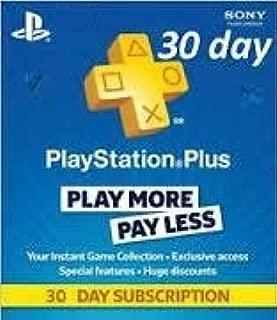 Playstation Plus 30 Day Membership Sony - Ps3/ Ps4/ Ps Vita [Digital Code]