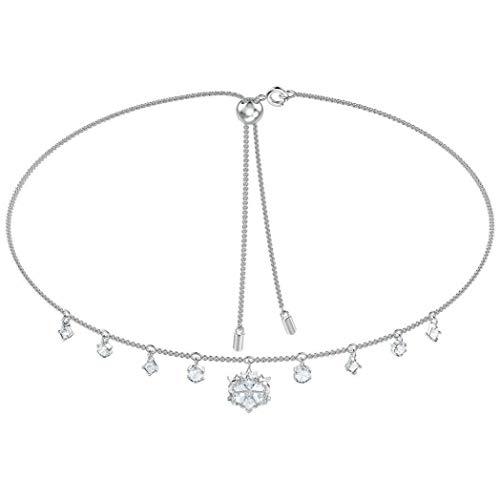 Swarovski Damen-Statement-Ketten Edelstahl Kristall 5409271