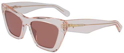 Ferragamo SF929S Acetate - Gafas de sol unisex para adulto, multicolor, estándar