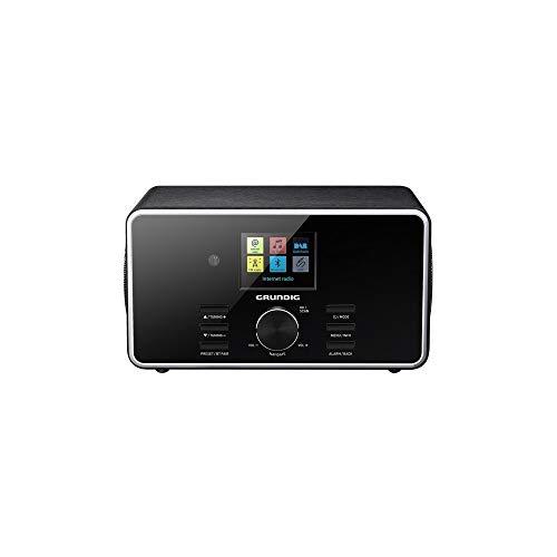 Grundig TR 3200 DABB tragbares Internet-Radio, Schwarz – tragbares Radio (Internet, DAB+, FM, 7 W, LCD, 3,5 mm, schwarz)