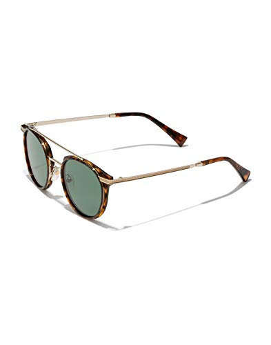 HAWKERS CITYLIFE Gafas de sol, Carey/verde, One Size Unisex Adulto
