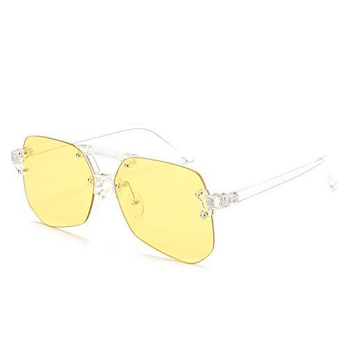 XIMAO Europäische Und Amerikanische Straßenaufnahmen Zeigen Flachlichtspiegel Trend Sonnenbrille Elegante Augenschutz Sonnenbrille Anti-Uv Antibakterielle Sonnenbrille C7 Porno