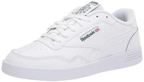 Reebok Herren Club MEMT Turnschuh, White/White/Clover Green, 45 EU