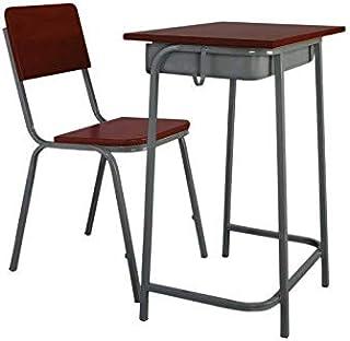طقم مكتب الطالب Mahmayi Venus 0201 (الكرسي W36 سم x D30 سم x H38 سم / عرض الطاولة 60 سم x D40 سم x H77 سم)
