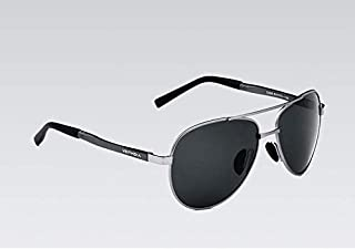 نظارات شمسية بولاريزد للرجال بإطار معدني من فيتديا