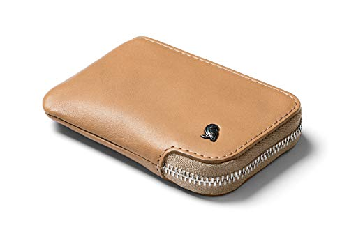 Bellroy Card Pocket (Small Leather Zipper Card Holder Wallet, Holds 4-15 Cards, Coin Pouch, Folded...