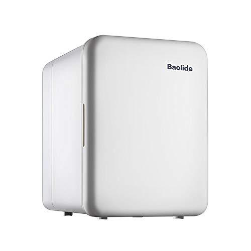 Mini frigorífico Refrigerador y Calentador,Eléctrico TermoEléctricoa Compacto Mini Nevera refrigerador para Coche Inicio Hogar Hotel Oficina -Blanco 4L