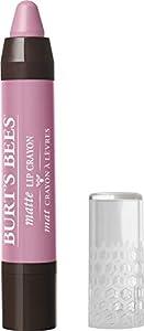 Burt's Bees 100% Natural Origin Moisturizing Matte Lip Crayon, Carolina Coast - 1 Crayon
