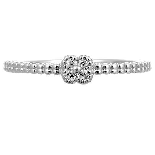 [ココカル]cococaru シルバー リング ダイヤ ダイヤモンド 指輪 レディース sv925 ギフト 贈り物 記念日 プレゼント 日本製(7)