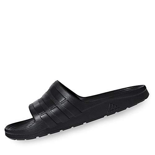 adidas Duramo Slide, Chanclas Unisex Adultos, Negro (Cblack/Cblack/Cblack), 37 EU