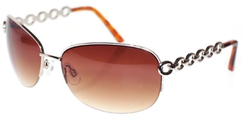 Dockers� Semi Rimless Oval Sunglasses GOLD