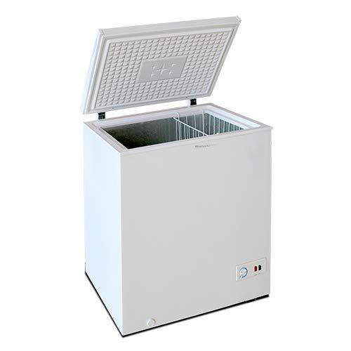 Congelador Arcón MILECTRIC Horizontal (Blanco) A+/F 197 litros - Dual System - 4****