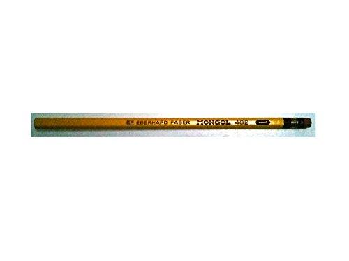Eberhard Faber Inc. Mongol Pencils 482 No. 1 with Eraser Sold in Units of 4 Pencils Limit 1 unit Per Customer