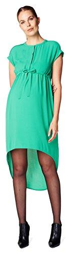 ESPRIT Maternity Damen Umstandskleid Dress WVN Ss, Green (347 - Moss Green), 38 (Herstellergröße: 38)