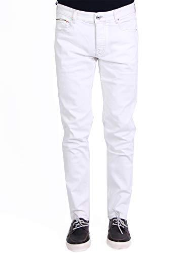 Care Label Mod. BDS214-DV317 Jeans Stretch European Denim Line heren wit