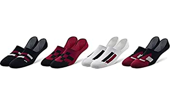 Pair of Thieves Men s 4 Pack Invisible No Show Socks Wavy Color Blocks One Size