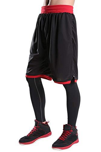 ハーフパンツ メンズ スポーツ [UVカット・通気速乾] ショートパンツ ランニング フィットネスパンツ ショーツ 部屋着 透けない EU(イーヨウ)