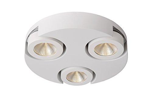 Preisvergleich Produktbild Lucide MITRAX-LED - Deckenstrahler - Ø 30 cm - LED Dim. - 3x5W 3000K - Weiß