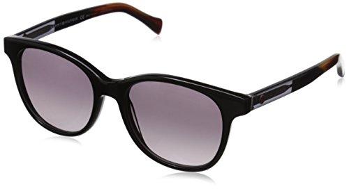Tommy Hilfiger Unisex-Erwachsene TH 1310/S EU Sonnenbrille, Schwarz (Black Grey), 51