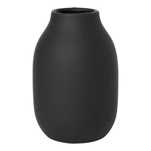 Blomus Colora Vase, Keramik, Schwarz, One Size