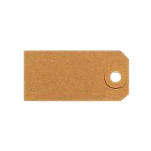 Unstrung Tags 4A 108 x 54mm Buff Single (Pack of 1000) TG8024 FINCHLEY Pen Free