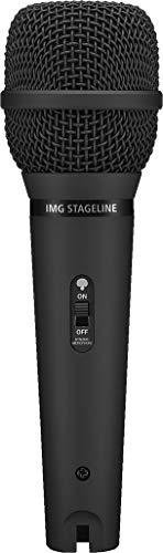 IMG Stageline DM-5000LN dynamische microfoon voor podium en zang, zwart
