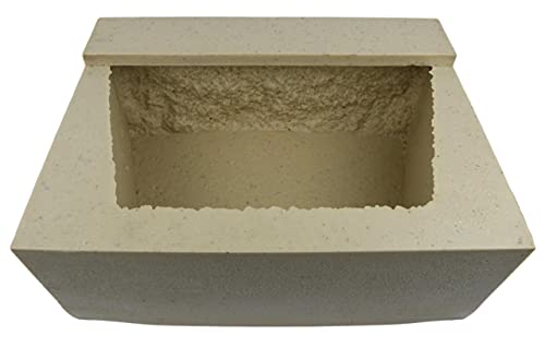 Veneer Stone Rubber Molds for Concrete, XL Retaining Wall Block 16.5'Lx10'Dx5.75'H, Recycled Material