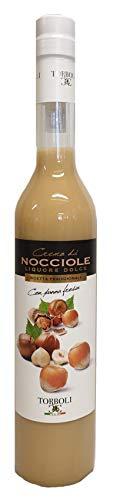 Torboli Haselnusslikör | Crema Nocciola | Cream |Haselnuss Likoer | Nuss Spirituosen | Italienischer Likör (0,5l)