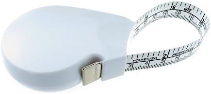 Hoechstmass Balzer Forma lichaams- en omtrekband, ABS, wit, 150 cm 60 inch