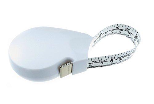 Hoechstmass Balzer Forma Körper-und Umfangmaßband, ABS, Weiß, 150cm 60 zoll