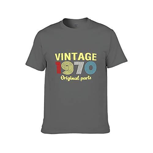 Männer Mode gedruckt - 50. Geburtstagsgeschenk T-Shirt gemacht 50 Geburtstagsdekorationen Vintage 1970 T-Shirt 3XL