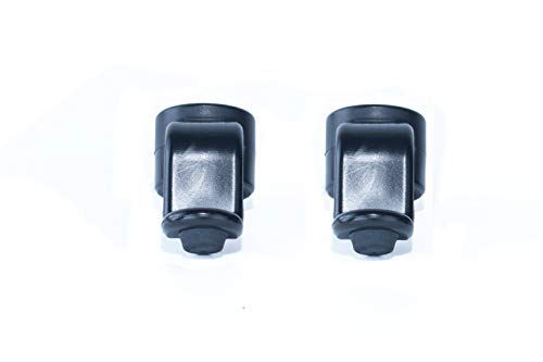 activera® Stockhalter 2er Set Gehhilfenhalter für Rohrdurchmesser 22mm Halterung für Gehstützen, Krücken u. Gehhilfen